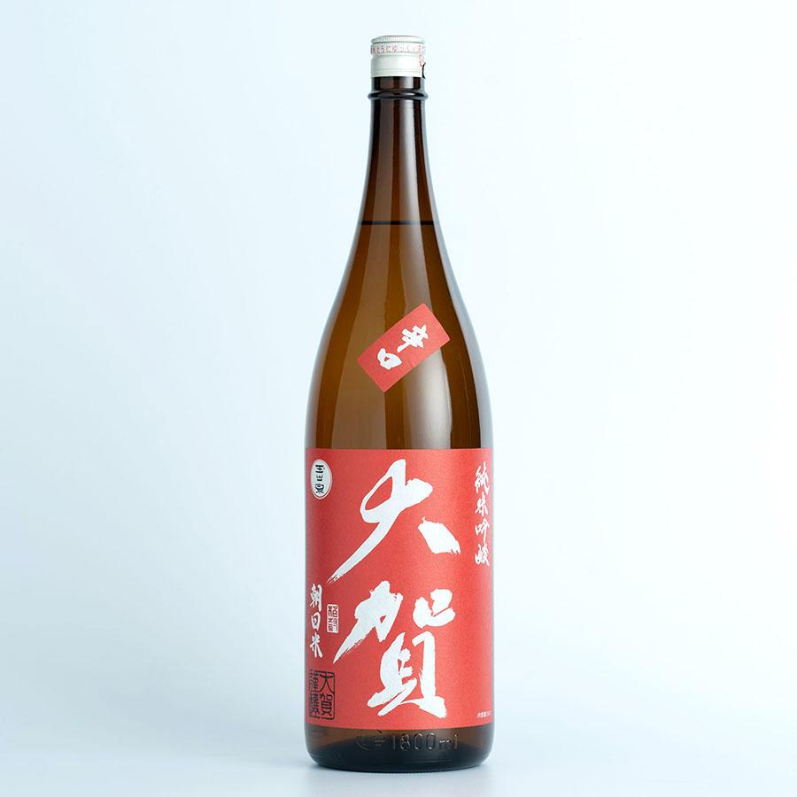大賀純米吟醸朝日米
